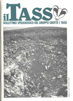 1989 il tass bollettino speologico