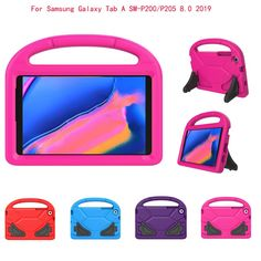 Case Tab For Samsung Galaxy Tab A SM-P200/P205 8.0Inch 2019 Portable Case Stand Cover Luxury Case TabletG2 Samsung Cases, Samsung Galaxy, Luxury, Cover, Books, Libros, Book, Book Illustrations, Libri
