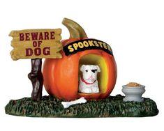 Lemax Spooky Town Pumpkin Doghouse # 64053 | L64053 | 728162640536