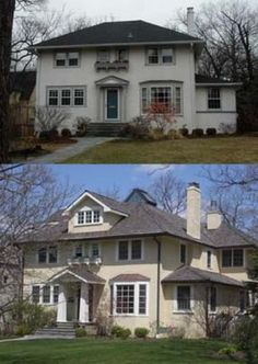 Home Exterior Renovation Before And After before and after exterior renovation | before and after
