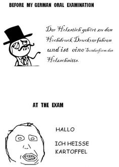 This is why I didn't take German 4.