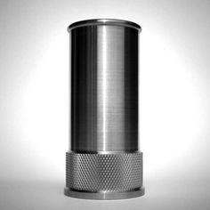 stainless steel shot glass | shotshell by MadeByAmmo