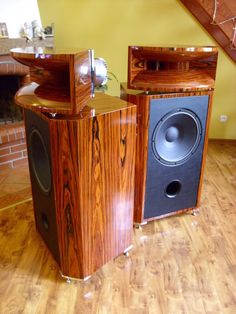 Biradial horns, TAD TH4001, KartogenAudio