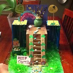 Leprechaun trap someone made. So cute! Go Irish. I want a leprecaun trap...