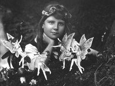 Untitled, chaosophia218:   The Cottingley Fairies.  In 1920...