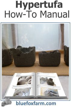 Hypertufa How-To Manual - get the goods on making this fun and interesting craft Garden Junk, Garden Art, Fox Farm, Rustic Crafts, Rustic Gardens, Get Started, Manual, Website, How To Make