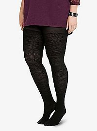 TORRID.COM - Pointelle Print Fishnet Tights