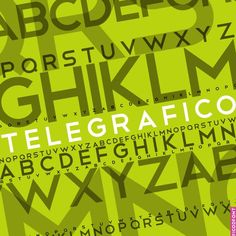 Telegrafico is a lovely sans serif typeface. It is easy to read and has elements of visual interest, like the interesting curves of the 'B'. It works well as a headline, and would pair nicely with something more elaborate as a subhead for balance.