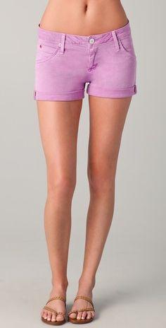 Hudson    Hampton Cuffed Short Shorts