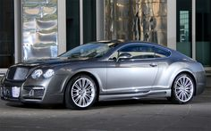 Bentley Continental, Now this is a serious automobile!!!! Keep the dream alive.