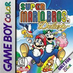 Super Mario Bros. Deluxe - Game Boy Color Box