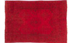 Roter Teppich by KISKAN PROCESS (Orientteppich), Orientteppich, gefärbter Teppich, Wohnzimmer, vintage, orient, muster, Wohneinrichtung, Vintage Teppich, rug, carpet, red