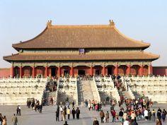 Arquitetos norte-americanos elegem 22 prédios mais lindos do mundo | HypeScience O templo da Cidade Proibida em Beijing, China