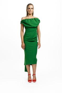 43b0a9a680 Sian Drape Dress by Kevan Jon Green