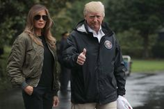 Trump Makes Devastating Hurricane All About Trump | HuffPost-SUCH AND IGNORANT, ARROGANT JERK!  HE THINKS EVERYTHING IS ABOUT HIM.  RIGHT UP THERE WITH HITLER!