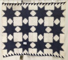 Antique Quilt,   Feathered Star  c. 1880, Pa,  # 2029