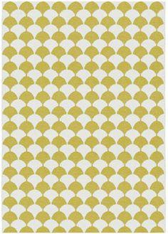 Brita Sweden Gerda mustard rug 150x200cm|Brita Sweden Gerda mosterd ta | Supergoods Ecodesign & Fair Fashion