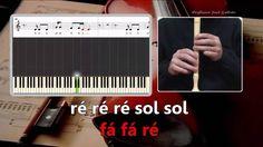 Royals - Lorde - Karaoke das notas para flauta.