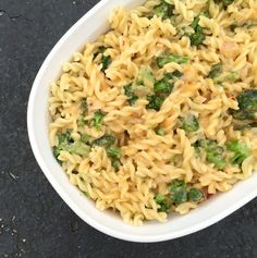 Packed with ooey gooey cheese, lots of flavor, and loads of broccoli, this is comfort food at its finest.