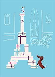 :) A great poster reflecting three of my loves - Harvey my dachshund, shopping and the eiffel tower. Tour Eiffel, Scottish Terrier, Dog Love, Puppy Love, Mini Dachshund, Daschund, Weenie Dogs, Doggies, Oui Oui