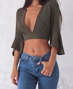 New fashion hipster style casual ideas hipster fashion, crop tops, fashion, outfit ideas Mode Outfits, Trendy Outfits, Fashion Outfits, Womens Fashion, Fashion Trends, Fashion Fashion, Fashion Ideas, Ladies Fashion, Fashion Clothes