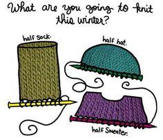Ooooppssss....Looks like my knitting bag!