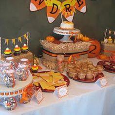 Candy Corn Birthday Party {Fun Birthday Ideas}