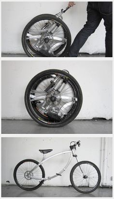 Innovative Folding Bicycle Design.
