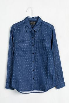 Womens Lewis Dot Button Down | United By Blue  - 1