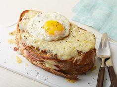 Croque Madame Sandwich Recipe : Alex Guarnaschelli : Food Network - FoodNetwork.com