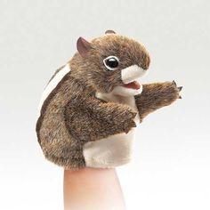 Folkmanis Little Chipmunk Little Puppet - 2929