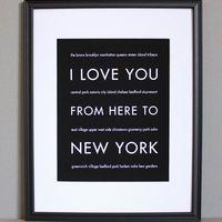 New York Art Print, 8x10 on Luulla