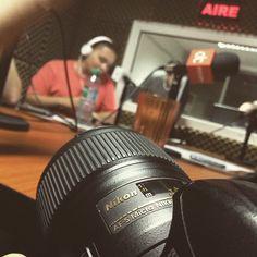 Cubriendo un gran programa #aire #radio #fotografia Nikon, Electronics, Instagram, Cover, Fotografia, Consumer Electronics