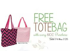 Get your free bag today