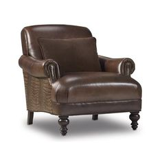 Bradington-Young Olivia Club Chair Finish: New Classiques, Upholstery: 913100-95