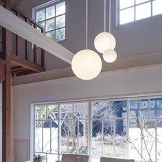 LED MODIFY ペンダントシャンデリア(吹き抜け) 実例・設置イメージ集   照明のライティングファクトリー