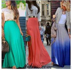 I am in love with the ombre skirt!!! im hooked on maxi skirts!