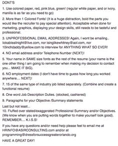 Recommended Resume Font International Resume No Problem  Recommendations  Pinterest