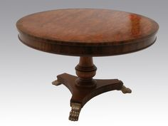 Regency Crossbanded Centre Table by Geoff Wonnacott. http://www.geoffreywonnacott.co.uk