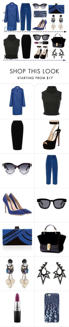 """""""Day to Night Ensembles"""" by adswil ❤ liked on Polyvore featuring Atea Oceanie, Brandon Maxwell, Tome, Prada, Grey Ant, Acne Studios, Gianvito Rossi, Edie Parker, Marni and Stephen Webster"""