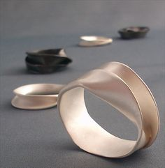 Selection of Rings from Aino Series by Malin Winberg.