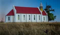 this beautiful church in Umtata Nelson Mandela, South Africa, Cape, House Styles, Red, Pictures, Beautiful, Mantle, Photos