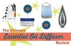 Not sure which essential oil diffuser to buy? Check out this huge comparison post!