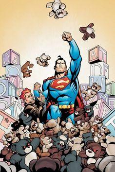 SUPERMAN vs teddy bears (my money's on the bears)