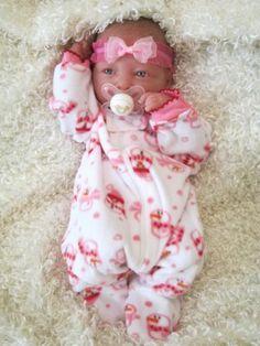Reborn Baby Rosabell-Berenguer Real Girl+Paci+BONUS-LG Layette- Bambino Nursery