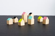 DIY+Little+Wooden+Houses+by+rachaelsmith+for+Julep