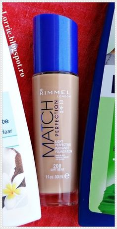 Lorena's Blog♥: Review fond de ten Rimmel Match Perfection