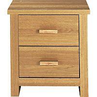 Winchester Bedside Chest - Oak