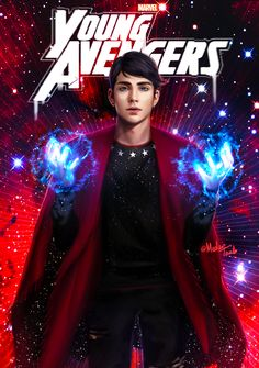 """There are new kids on the block""  Young Avengers Netflix mini-series. William ""Billy"" Kaplan, aka Wiccan."