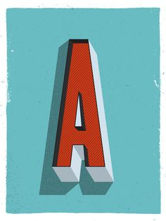 Daily Letter Project: A #typography